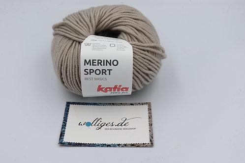 Merino Sport 10 mittelbeige