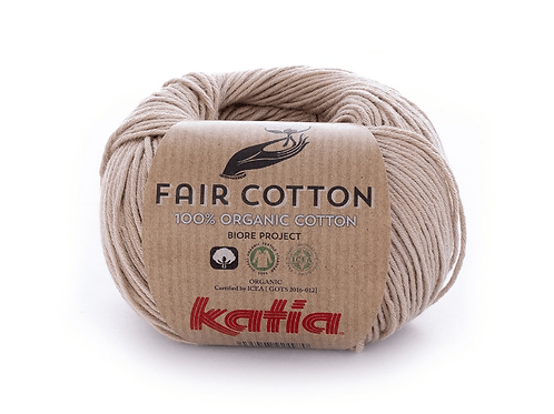 Fair Cotton 12 - Sepiabraun