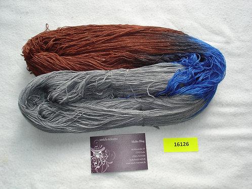 grau/braun/kobalt
