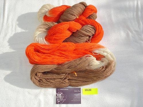 orange/natur/taupe