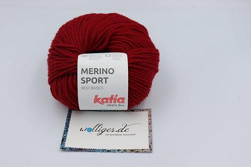 Merino Sport 21 - Weinrot