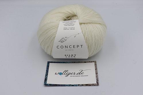 Silky Lace 152 - Naturweiß