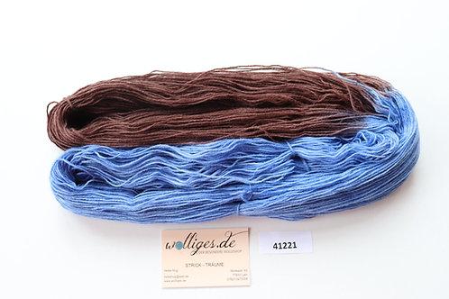 kobalt/dunkelbraun