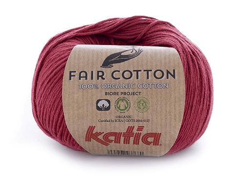 Fair Cotton 27 - Weinrot