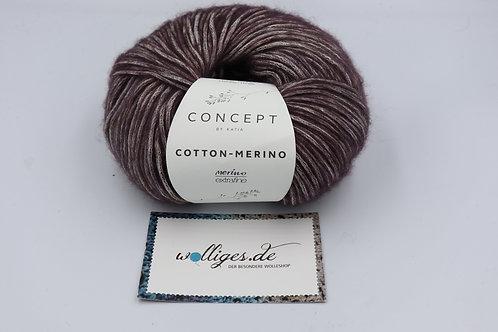 Cotton-Merino 134 aubergine