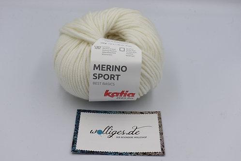 Merino Sport 1 - Weiß