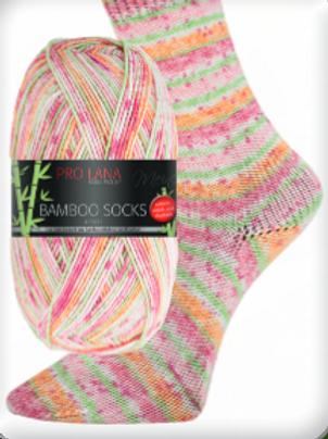 Bamboo Socks mandarin Nr.961