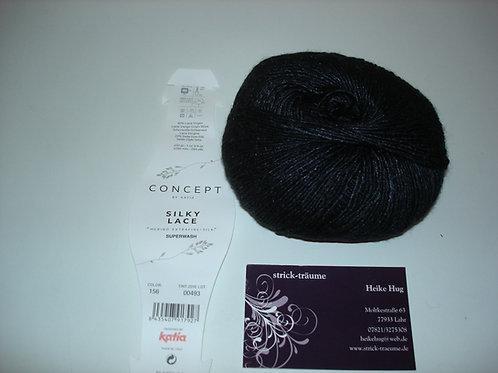 Silky Lace 156 schwarz