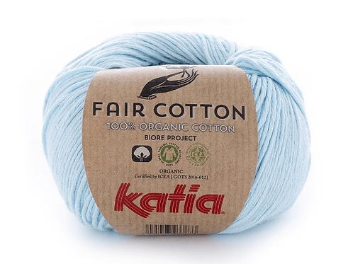 Fair Cotton 8 - Hellhimmelblau