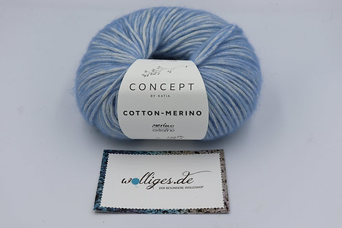 Cotton-Merino 131 hellblau