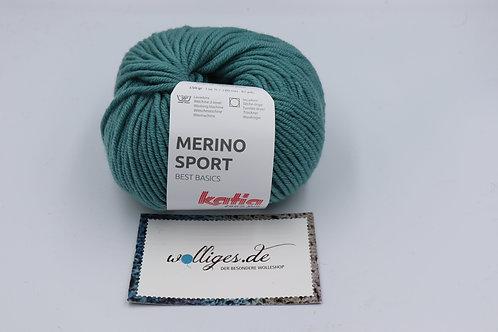 Merino Sport 52 - Graublau