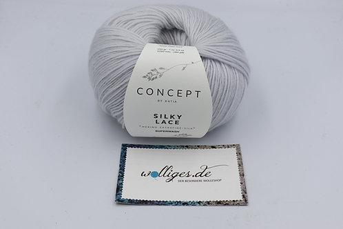 Silky Lace 173 - Perlhellgrau