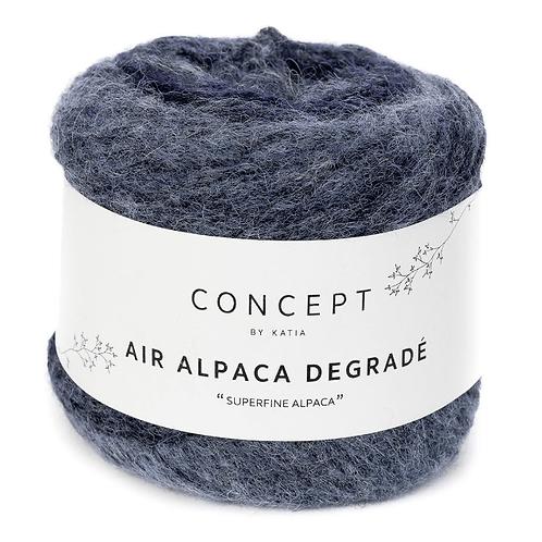 Air Alpaca Degradé 67 blau