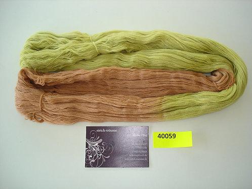 hellbraun/lindgrün