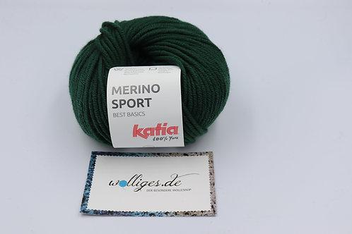 Merino Sport 54 - Flaschengrün