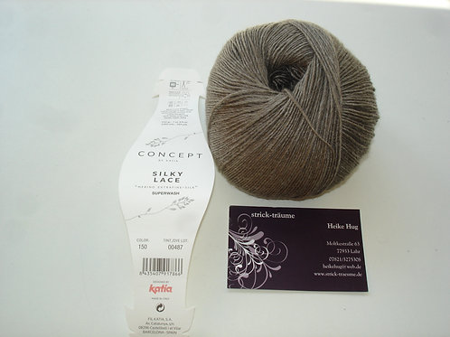 Silky Lace 150 taupe