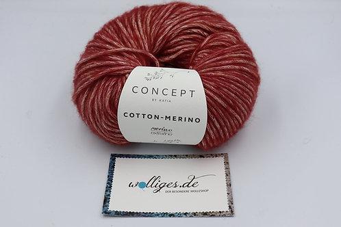 Cotton-Merino 125 - weinrot