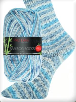 Bamboo Socks hellblau Nr.957
