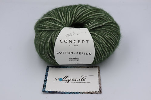 Cotton-Merino 122 - blassgrün