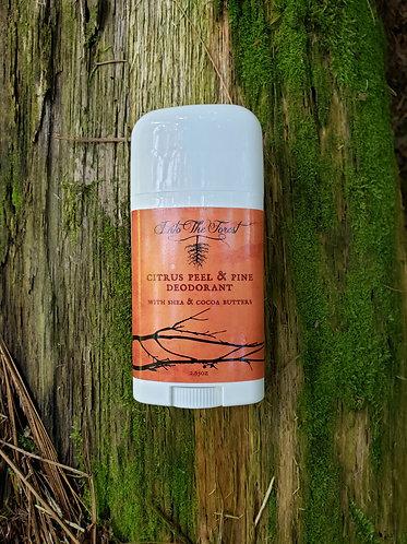 2.65 oz Citrus Peel & Pine Deodorant