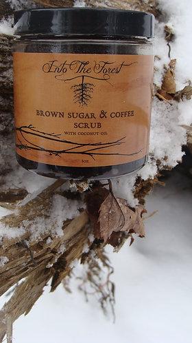 8 oz Brown Sugar & Coffee Scrub
