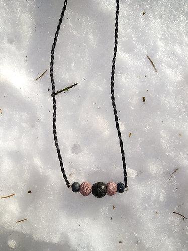 Lava Stone Oil Diffuser Necklace