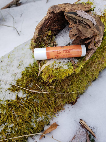 .15 oz Sweet Orange Lip Balm