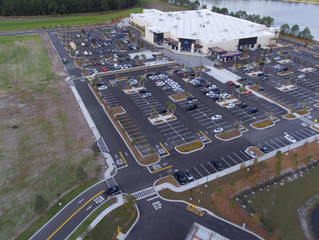 Premier Drones is selected to film the Grand Opening of the New Sam's Club in Lake Nona, FL