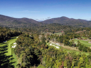 Great views from Mountaintop Golf and Lake Club in Cashiers, NC