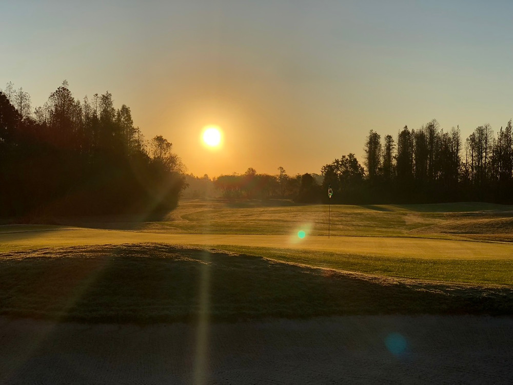 Beautiful Sunrise at The Groves Golf and Country Club