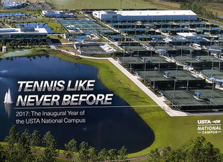 USTA National Campus in Orlando Selects PDP Aerial Photo for the 2017 Inaugural Yearbook Cover