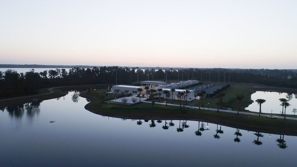 Sunrise at USTA Development Center Lake Nona