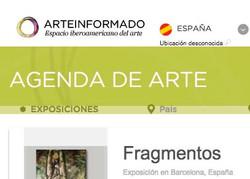 Agenda de arte ARTEINFROMADOS