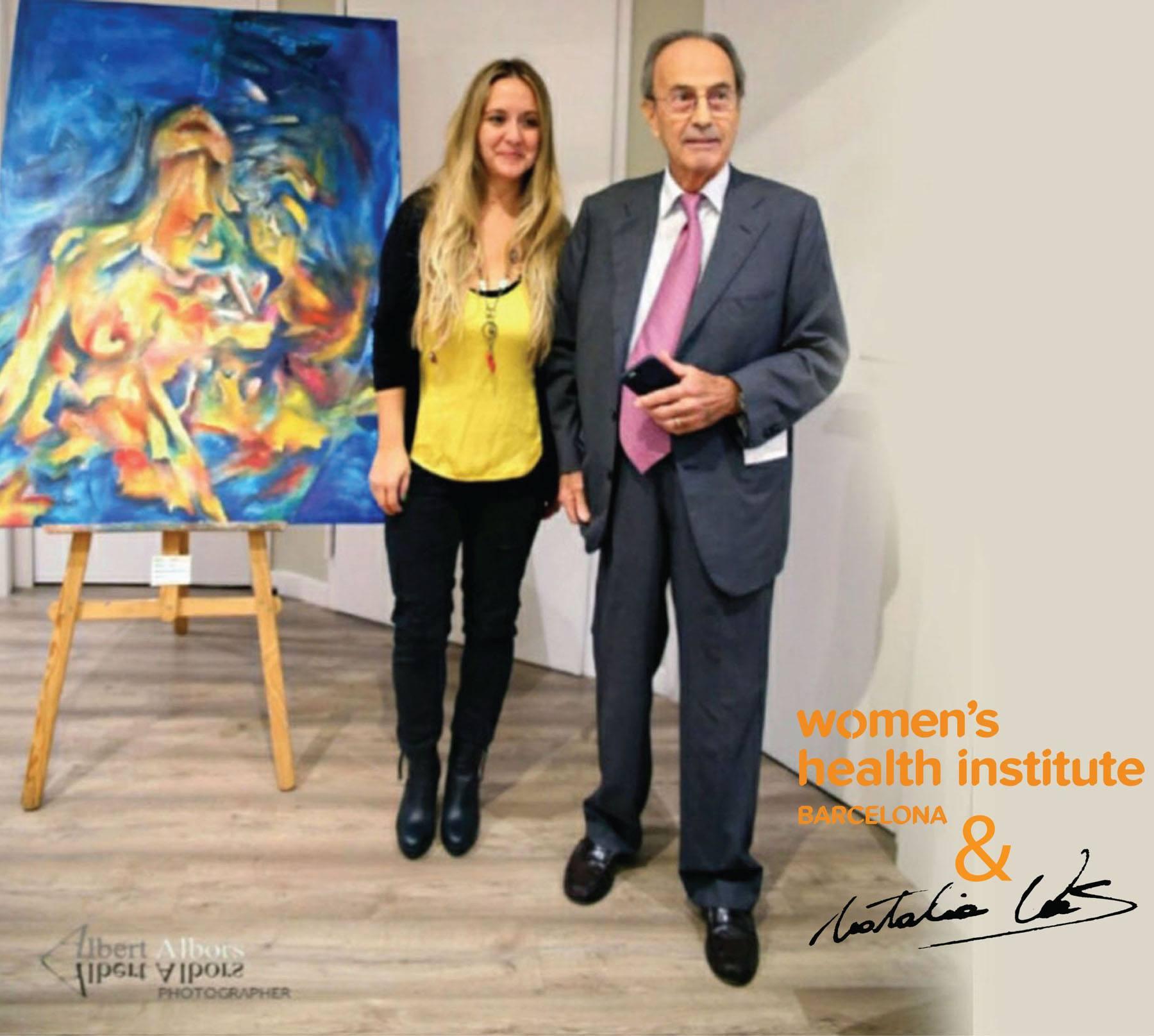 Natalia Vas y Dr.Dexeus Fundación