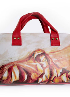 "Bolso Mediano ""Silence of the Soul"" iva inc"