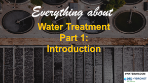 Introduction to Water Treatment Practices