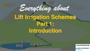 A Brief Introduction to Lift Irrigation