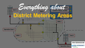 What are District Metered Areas (DMA)?