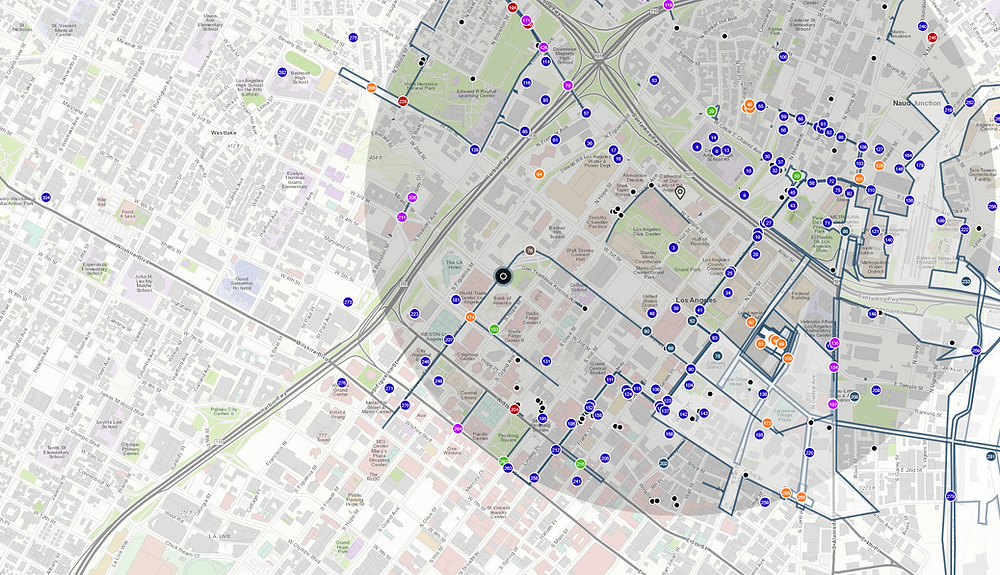 GIS Map: City Maintenance Map; Source: ESRI