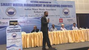 IWWA Invites DTK Founders to Speak at National Workshop on Smart Water Management at Kolkata
