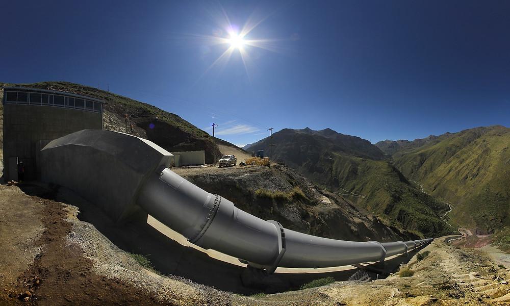 Pressurized Water Transmission Main
