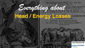 What are the Energy Losses (head losses) in Pipe Networks?