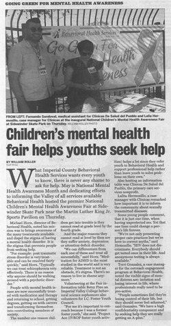 IV Press Mental Health Day 2016