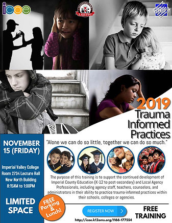 2019 Trauma Informed Practices Nov 15 JP