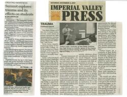 IV Press Summit Trauma Informed