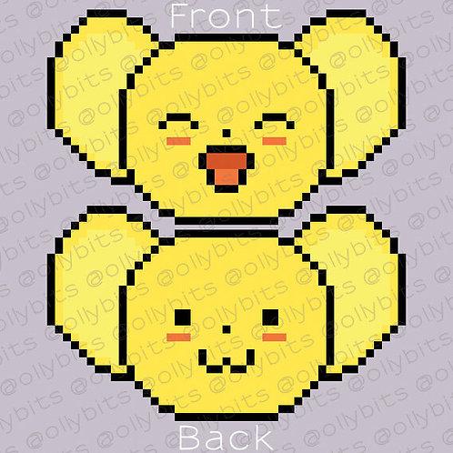 Cardcaptor Sakura Pixel Art Acrylic Charms