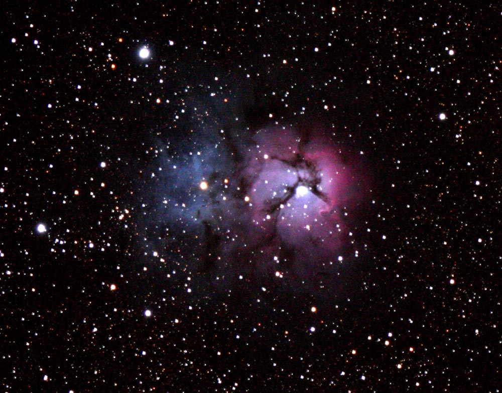 50 M 20 Trifid Nebula x