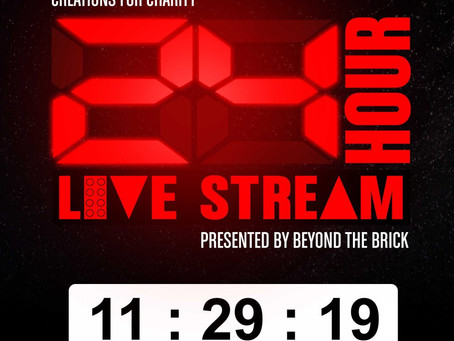 6th Annual Creations for Charity 24-Hour Live Stream