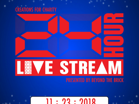 5th Annual Creations for Charity 24-Hour Live Stream