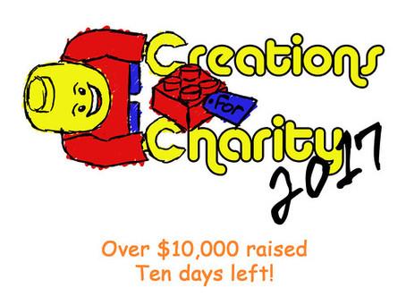 Over $10,000 So Far!